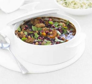fruity lamb tagine